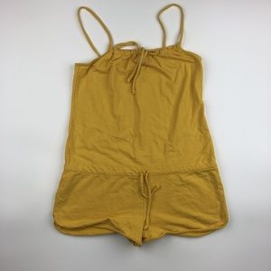 Roxy Women's Romper Size L Yellow SB14
